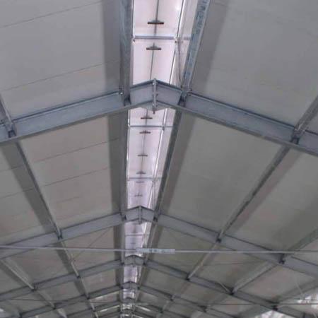 Paneles de cubierta de uso agropecuario.